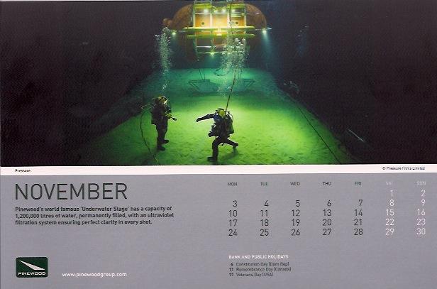 Pinewood Calendar 2014